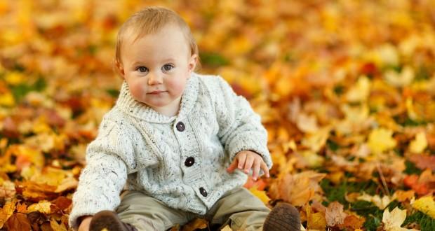 dziecko-jesien